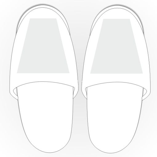 Frottee-Slipper
